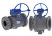 Cast Steel Trunion Mounted Ball Valves